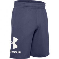 Pánske kraťasy Under Armour SPORTSTYLE COTTON GRAPHIC SHORT-BLK E4077