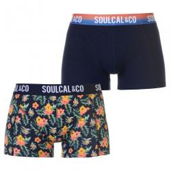 Pánske módne boxerky SoulCal J4587