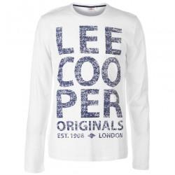 Pánske módne tričko s dlhým rukávom Lee Cooper H6535