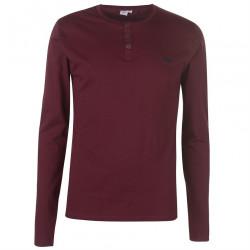 Pánske módne tričko s dlhým rukávom Lee Cooper H6539