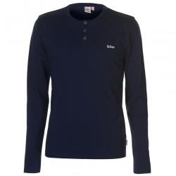 Pánske módne tričko s dlhým rukávom Lee Cooper H6541