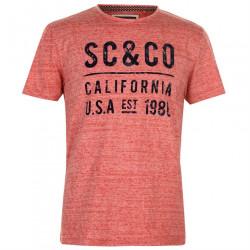 Pánske módne tričko SoulCal H8838