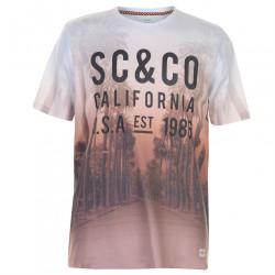 Pánske módne tričko SoulCal H8845