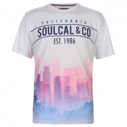 Pánske módne tričko SoulCal J5318