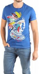 Pánske modré tričko Desigual W0999