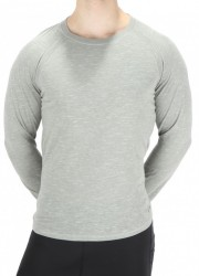 Pánske pohodlné tričko s dlhými rukávmi Bench X2912
