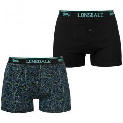 Pánske štýlové boxerky Lonsdale H8144
