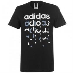 Pánske štýlové tričko Adidas J5831