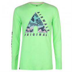 Pánske štýlové tričko Airwalk H8551