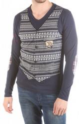 Pánske štýlové tričko Desigual W2201