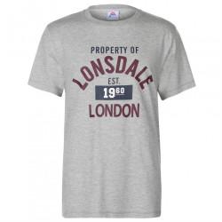 Pánske štýlové tričko Lonsdale H5132