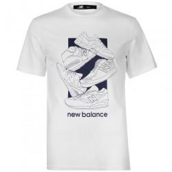 Pánske štýlové tričko New Balance H4843