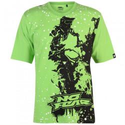 Pánske štýlové tričko No Fear H8486