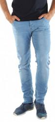 Pánske trendy jeansové nohavice Sublevel X9475