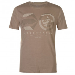 Pánske tričko Crosshatch H9423