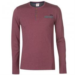 Pánske tričko s dlhým rukávom Lee Cooper H6451