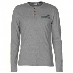 Pánske tričko s dlhým rukávom Lee Cooper H6452
