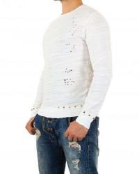 Pánske tričko s dlhým rukávom Y.Two Jeans Q3282