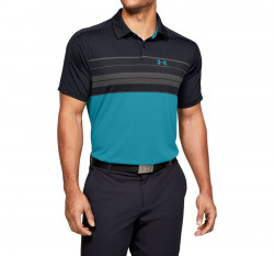Pánske tričko s golierikom Under Armour Vanish Chest Stripe Polo E4137