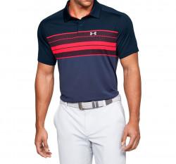 Pánske tričko s golierikom Under Armour Vanish Chest Stripe Polo E4138
