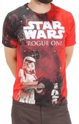 Pánske tričko s krátkymi rukávmi Star Wars Character H0829