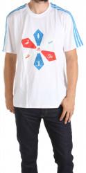 Pánske tričko s potlačou Adidas Performance W0829