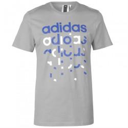 Pánske voĺnočasové tričko Adidas J5832