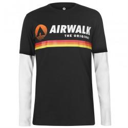 Pánske voĺnočasové tričko Airwalk J5558