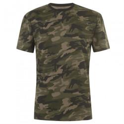 Pánske voĺnočasové tričko Firetrap J6472