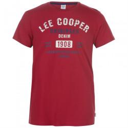 Pánske voĺnočasové tričko Lee Cooper H8235