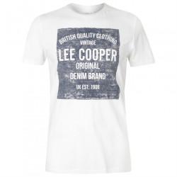 Pánske voĺnočasové tričko Lee Cooper J4701