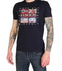 Pánske voĺnočasové tričko Napapijri L2717