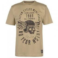 Pánske voĺnočasové tričko No Fear H8715