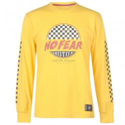 Pánske voĺnočasové tričko No Fear J5552