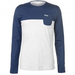 Pánske voĺnočasové tričko s dlhým rukávom Lee Cooper H6528