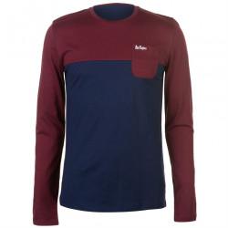 Pánske voĺnočasové tričko s dlhým rukávom Lee Cooper H6529