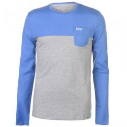Pánske voĺnočasové tričko s dlhým rukávom Lee Cooper H6530