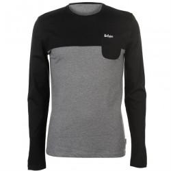 Pánske voĺnočasové tričko s dlhým rukávom Lee Cooper H6531