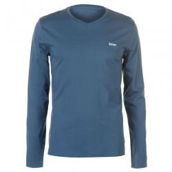 Pánske voĺnočasové tričko s dlhým rukávom Lee Cooper H6547