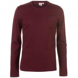 Pánske voĺnočasové tričko s dlhým rukávom Lee Cooper H6548