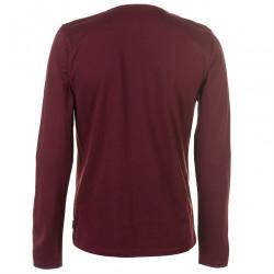 Pánske voĺnočasové tričko s dlhým rukávom Lee Cooper H6548 #1