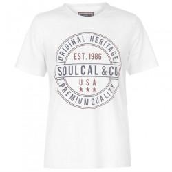 Pánske voĺnočasové tričko SoulCal H8701