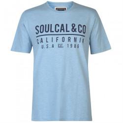 Pánske voĺnočasové tričko SoulCal H8702