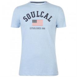 Pánske voĺnočasové tričko SoulCal J4438
