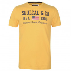 Pánske voĺnočasové tričko SoulCal J4439