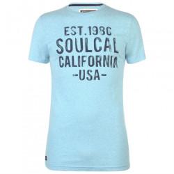 Pánske voĺnočasové tričko SoulCal J4440