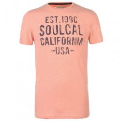 Pánske voĺnočasové tričko SoulCal J4441