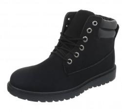 Pánske vyšší zimné topánky Q0781