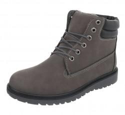 Pánske vyšší zimné topánky Q0782