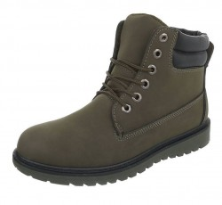 Pánske vyšší zimné topánky Q0784